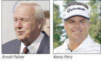 Arnold Palmer and Kenny Perry